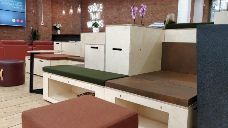 Clerkenwell design week, office design, workspace trends, love your workspace, connection furniture