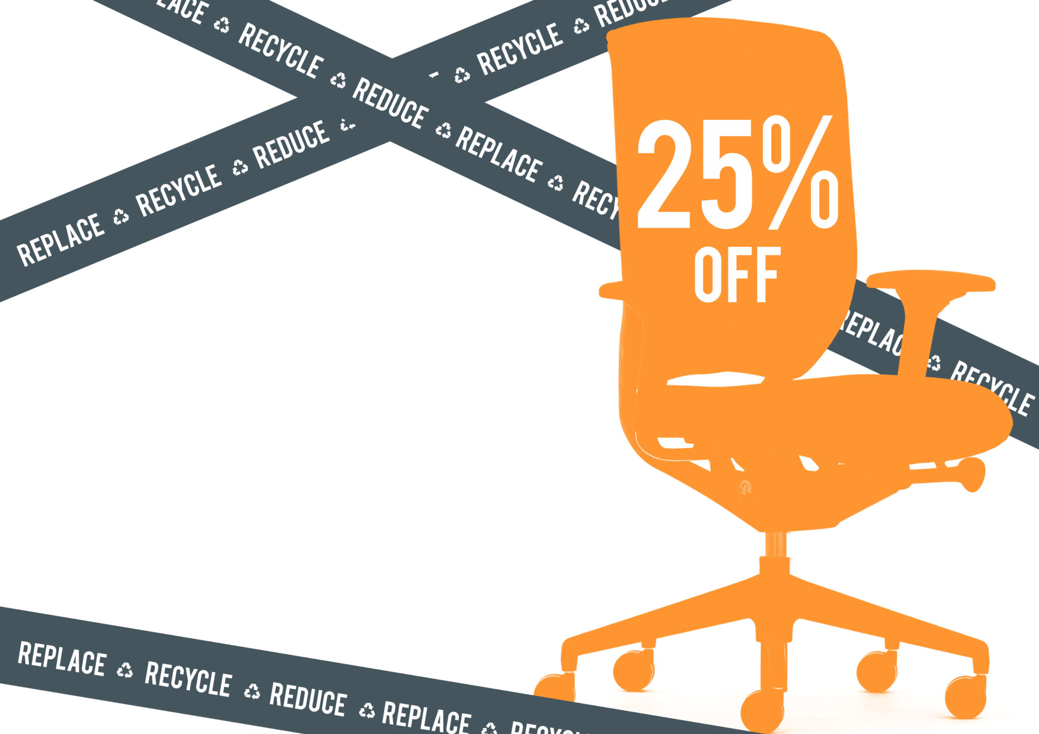 furniture recycling Brighton, office chair discounts, recycled office furniture