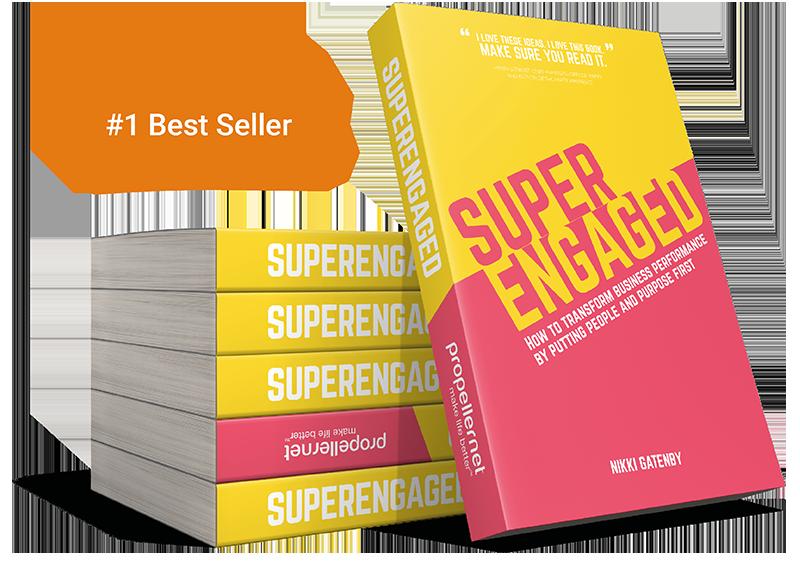superengaged, nikki gattenby, book, amazon, propellernet