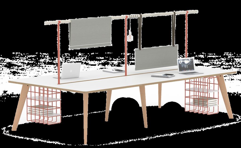 pailo, desk screens, scandi furniture, the senator group