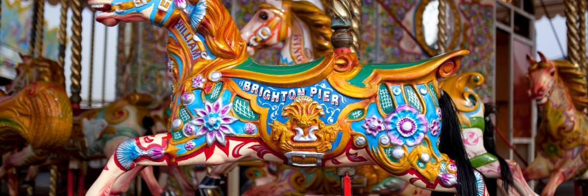 Brighton beach, themed furniture, shop